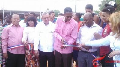 Oficina Presidencial para el desarrollo provincial entrega estadio en Azua:
