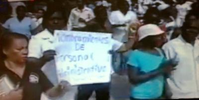 Guaymate se lanza a las calles a reclamar arreglo hospital