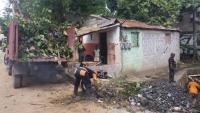 Ayuntamiento de Los Alcarrizos trabaja en saneamiento ambiental:
