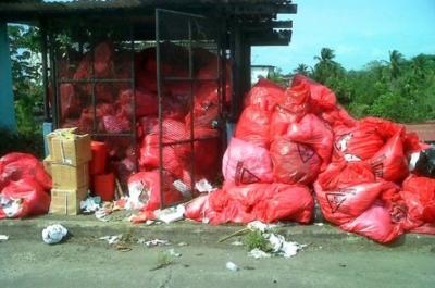 La mayoría de la población se opone a que en Villa González se instale una planta de tratamiento de desechos hospitalarios.