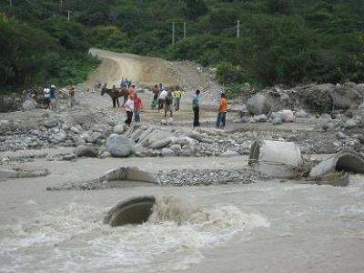 Río Las Cuevas.
