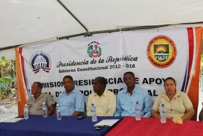 Presidente de la comisión presidencial de apoyo al desarrollo provincial inicia cuarter