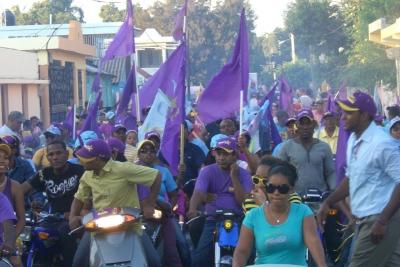 Realizan proclamación de pre-candidatos en Las Matas de Farfán: