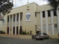 Comandancia de la Policía en San Pedro de Macorís.