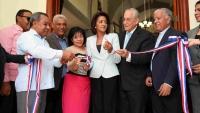 Primera Dama entrega viviendas y una iglesia en comunidad Vengan a Ver