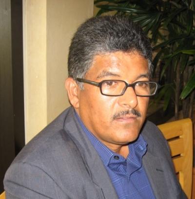 Alcibiades Vicente, director de la alcaldía de Guayabal, Padre las Casas, Azua