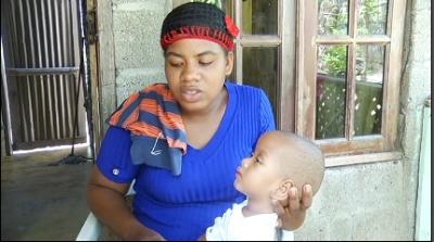Madre pide ayuda para salvar a su hijo que padece de  ''Hidrocefalia'':