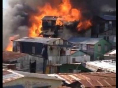 Dos niños de ocho y seis años mueren en fuego de vivienda: