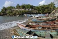 Playa en el distrito municipal Boca de Yuma en San Rafael del Yuma, provincia La Altagracia (Higüey).