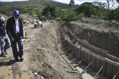 INDRHI dice está avanzada canalización y protección del Riíto en La Vega: