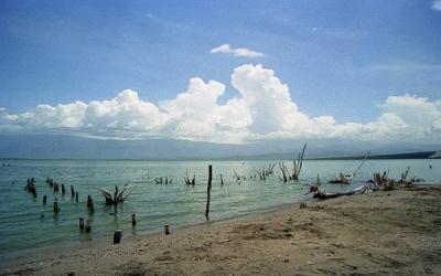Lago Enriquillo.