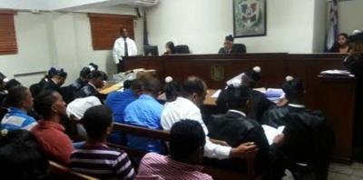 Juez reserva fallo en juicio preliminar asesinato regidor Bayaguana: