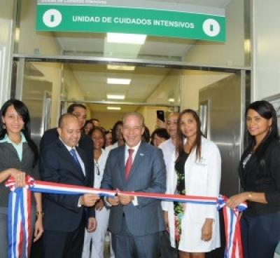 Gobierno abre nueva Unidad de Cuidados Intensivos en Pedro Brand: