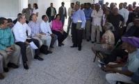 Medina promete créditos para productores de Hondo Valle y El Guayabo