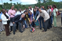 Inician construcción de liceo de ocho aulas en El Pueblecito