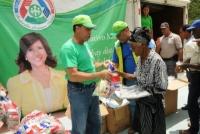 Despacho Primera Dama celebra en Peralta Día de la Solidariedad