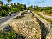 Tramo carretero en Tamayo-Uvilla es un peligro por malas condiciones