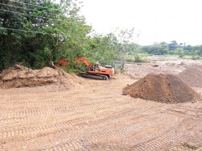 Avanzan trabajos de construcción del puente sobre el rio Yuna en Cotuí: