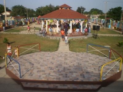 Parque Infantil Los Pinitos en Pepillo Salcedo.