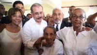 Presidente Danilo Medina se reúne con moradores