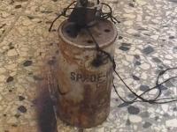 Lanzan bomba molotov en escuela de Piedra Blanca: