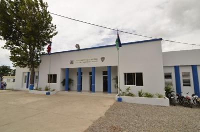 Gobierno remodela destacamento policial en Bayaguana: