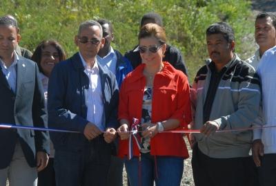 Inauguran sistema de abastecimiento de agua en Guayabal