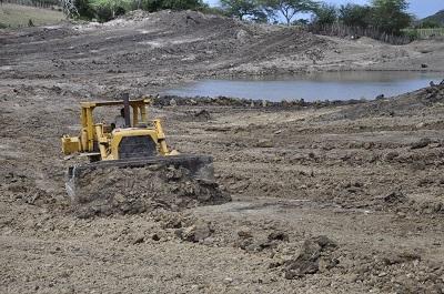 INDRHI construye y rehabilita lagunas en Villa Vásquez