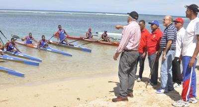 Ministerio de Deporte reafirma compromiso con deportes acuáticos