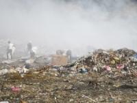 Humo basurero Tamboril se extiende hacia Santiago