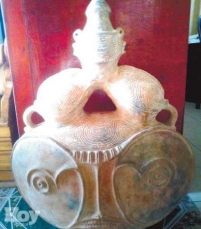 Encuentra piezas arqueológicas atribuidas al Cacique Cayacoa: