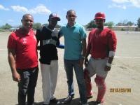 Ministerio de deporte inaugura el primer torneo de béisbol de Santana-Tamayo: