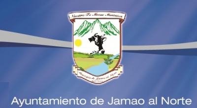 Escudo municipal de Jamao al Norte.