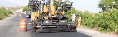 Odebrecht avanza asfaltado carretera Cibao-Sur: