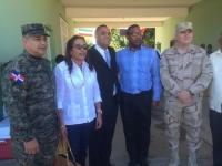 Director de migración, Cesfront y embajador de Haiti recorren frontera :