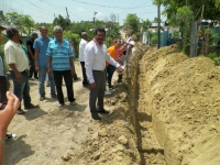Alcaldía Los Alcarrizos construye acueducto en Villa Progreso Segundo: