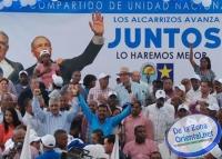Miguel proclama candidato a alcalde de Los Alcarrizos: